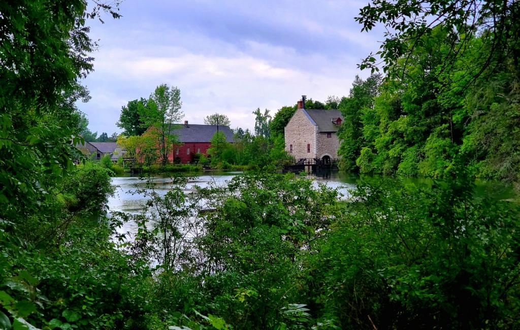 Gorgeous scenery at Upper Canada Village