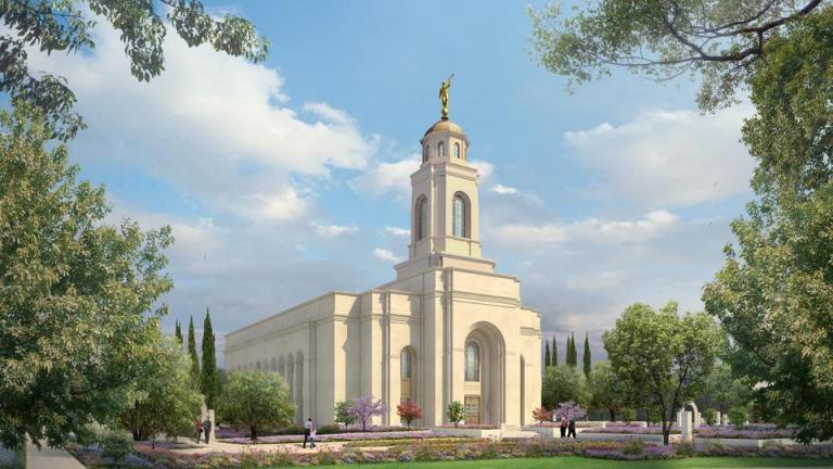 Yuba City's temple