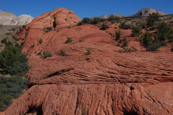 Jurassic sand dunes, Snow Canyon