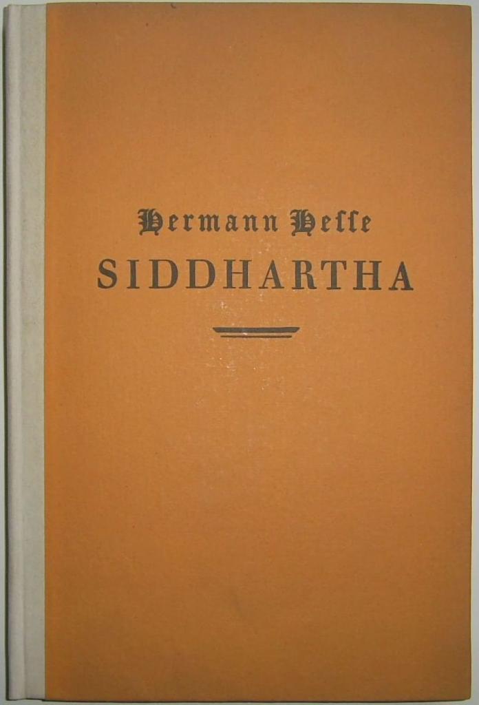 Siddhartha first edition