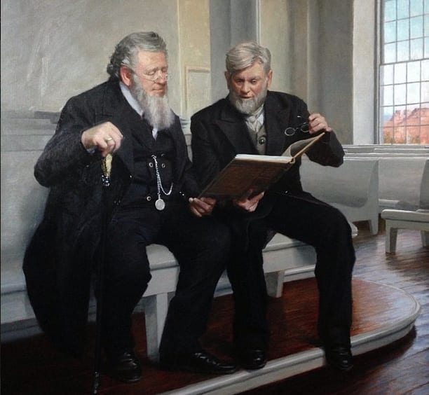 Casey Childs, Brigham Young, and Wilford Woodruff