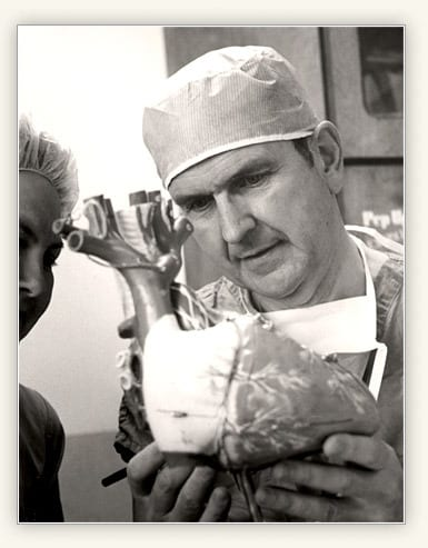 Dr. Nelson at work