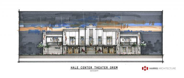 The future Hale Center Theater