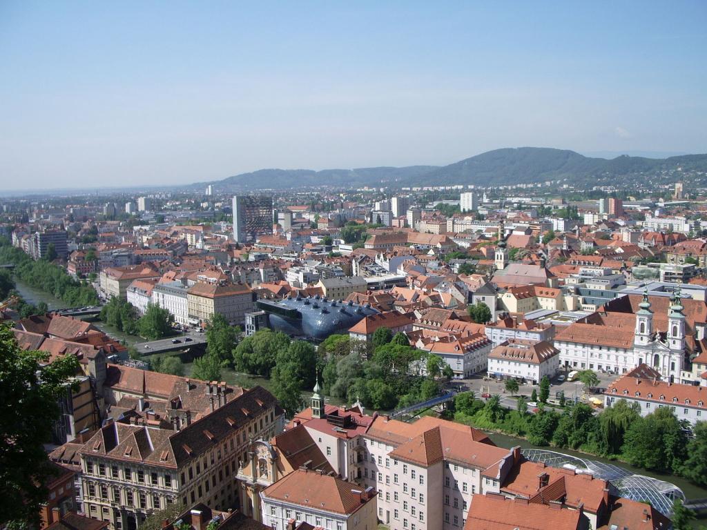 Überblick von Graz