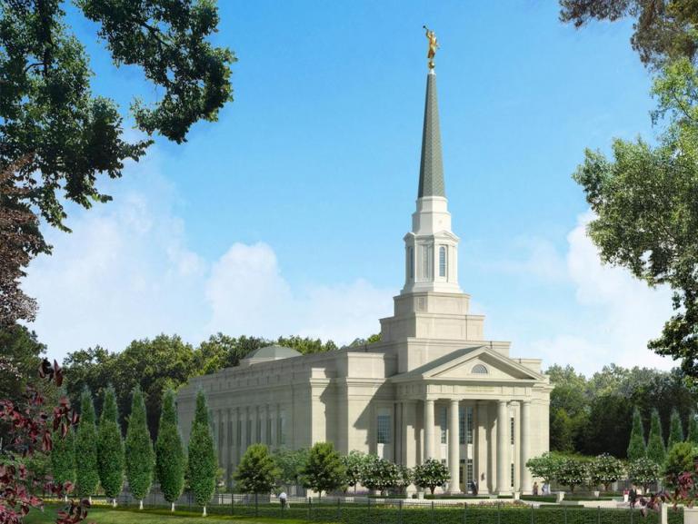 RVA Temple architect's rendering