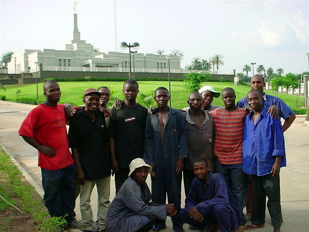 Nigerian Saints in Aba