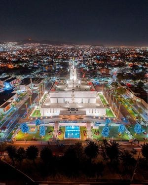 Christmas in Mexico City