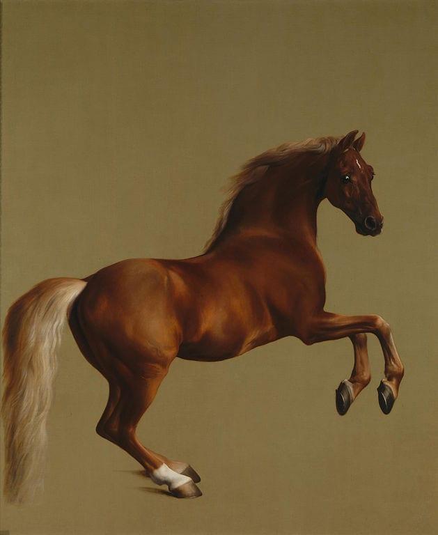 British horse painting