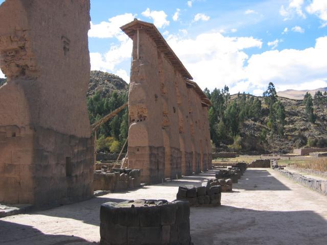 Viracocha's temple at Raqch'i