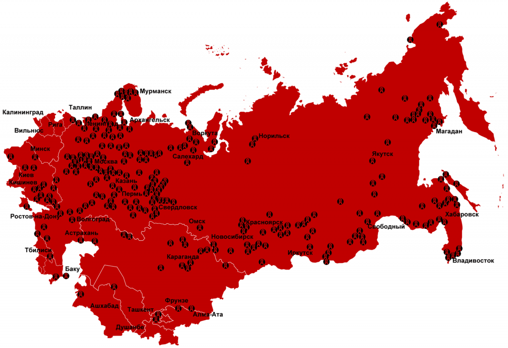 Soviet concentration camps