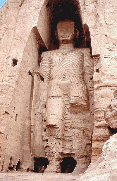 A Bamiyan Buddha