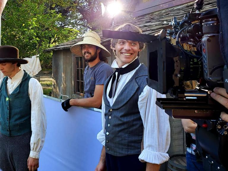 "James Jordan captures Joseph Smith ""backstage"""
