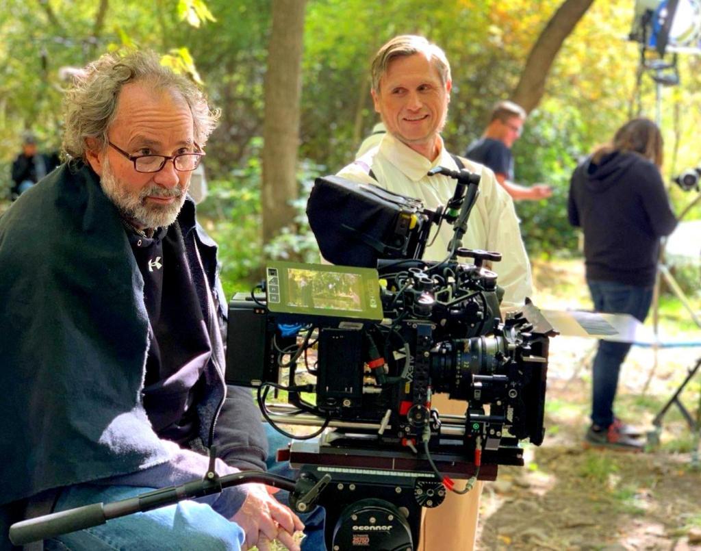 Cameraman and Martin Harris