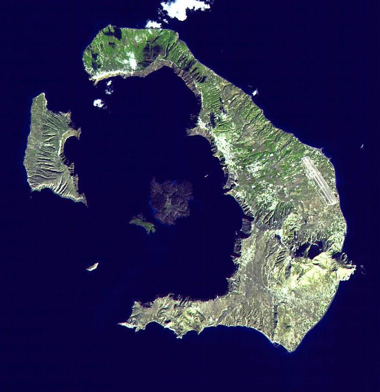 NASA does Santorini