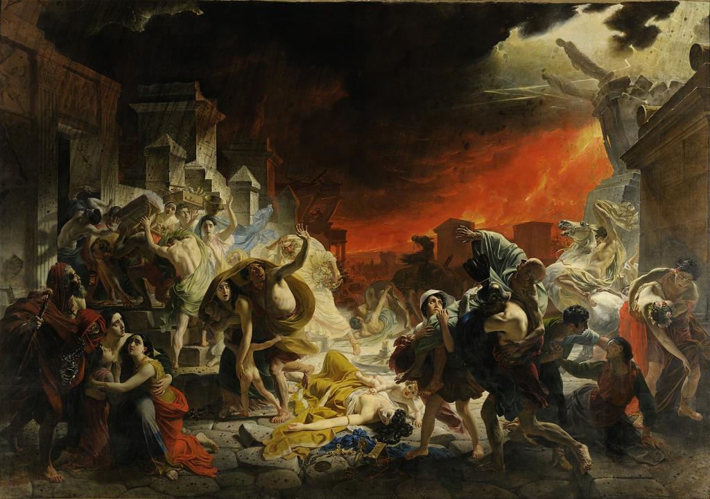 Bryullov's Pompeii