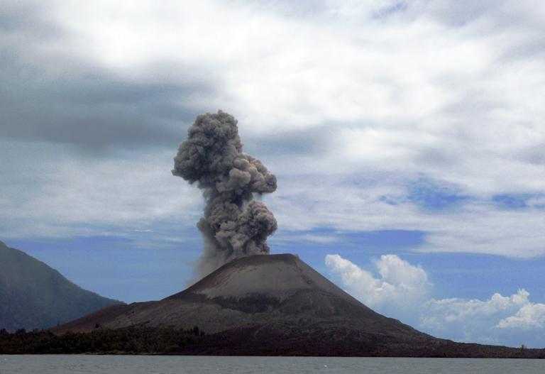 Krakatoa is still dangerous