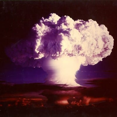 An H-bomb explosion