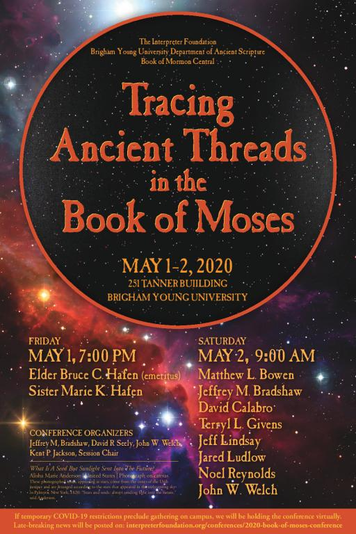 Moses conference poster
