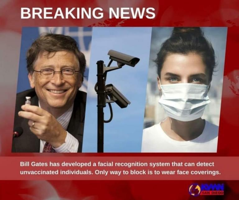 Bill Gates and coronavirus masks