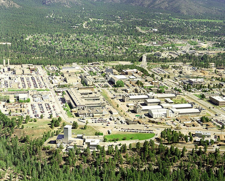 Los Alamos from above