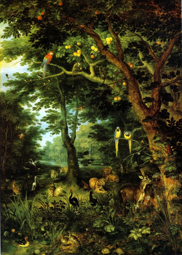 Brueghel's view of paradise