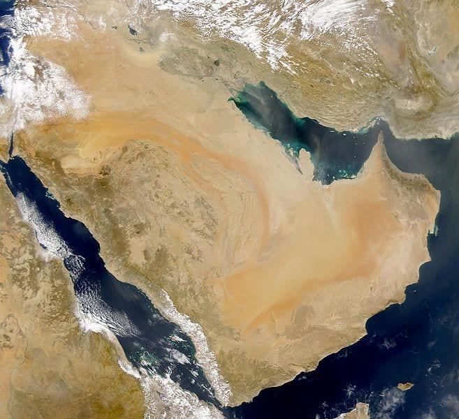 Arabia from heaven