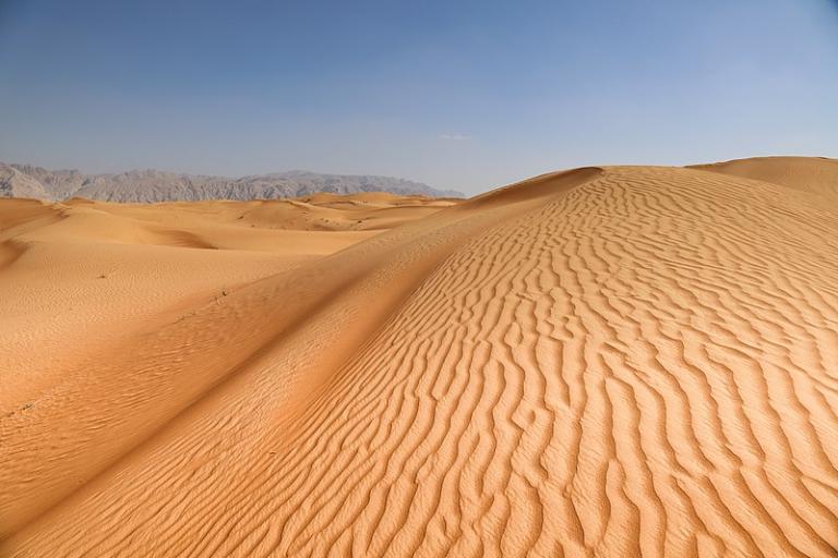Sand dunes in Sharja