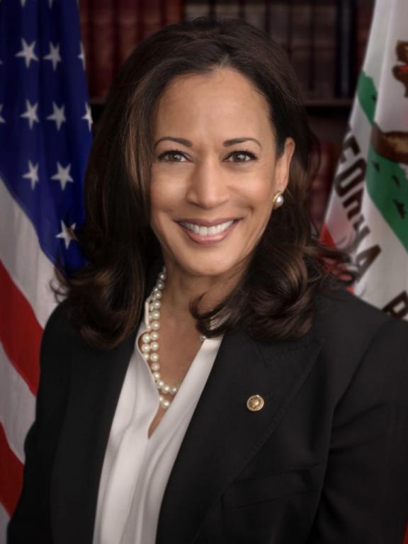 Kamala Harris, official Senate photo