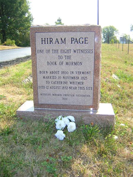 Hiram Page facts