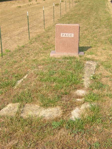 Hiram Page grave
