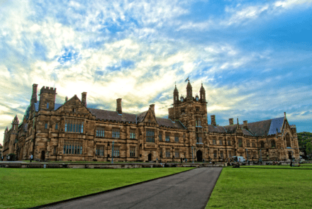 I've never seen the University of Sydney