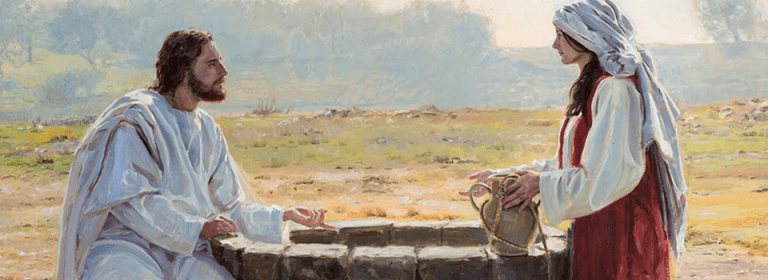 LDS.org, the woman in Samaria