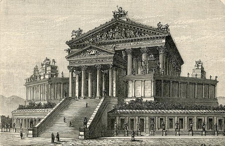 Capitoline Jupiter's place