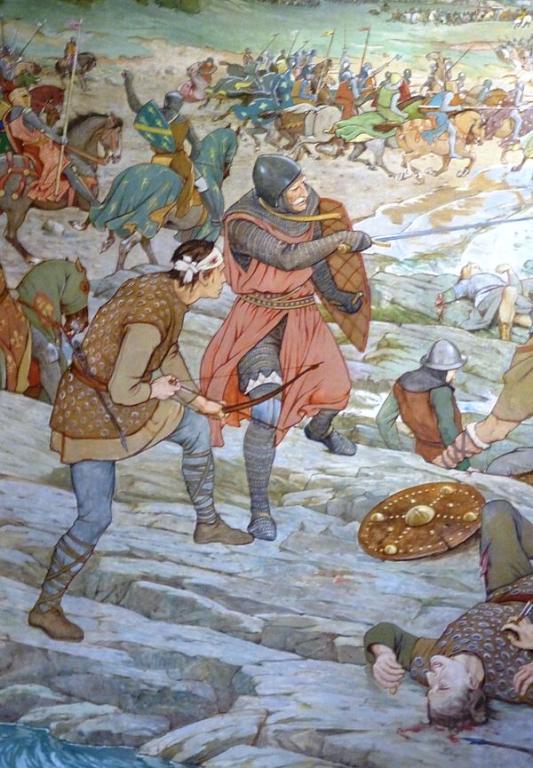 Haakon IV's defeat