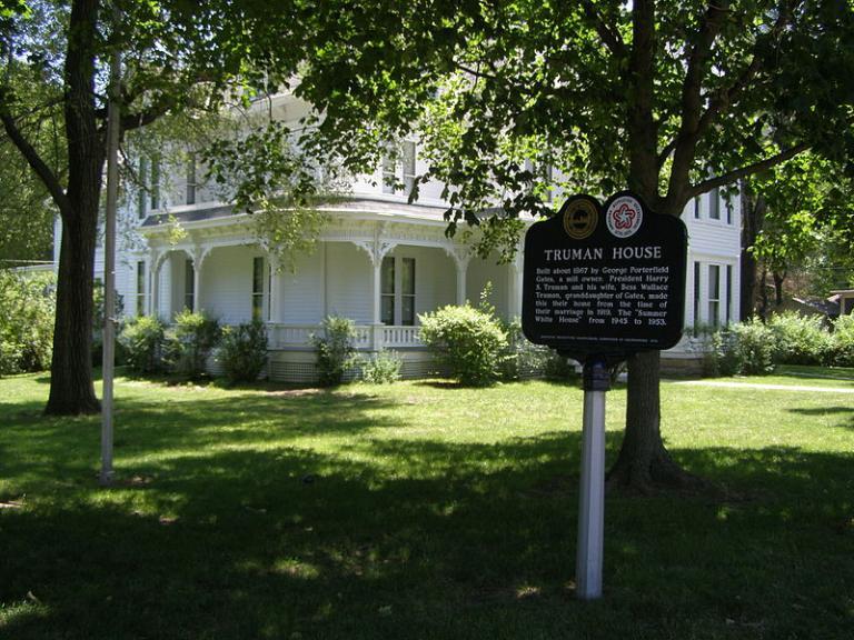 Truman House marker