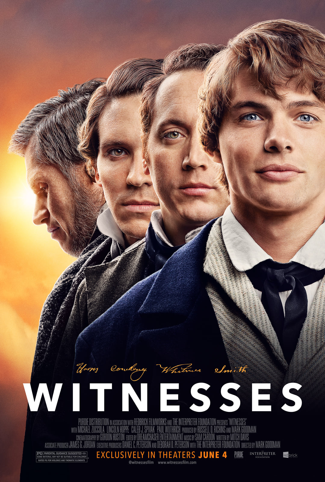 Witnesses, the poster
