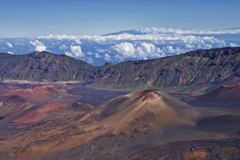 Haleakala on a clear day