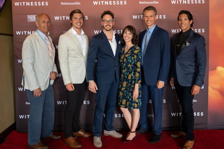 "The principal stars of ""Witnesses"""