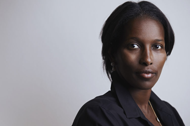 Ayaan Hirsi Ali, an official photo