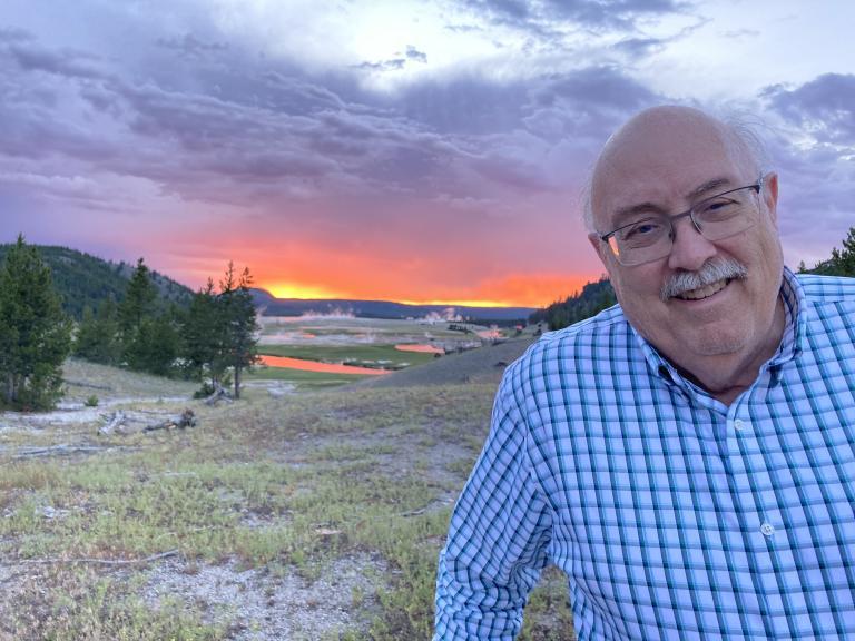 Me, at Yellowstone