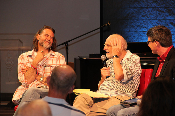 Richard Beck and Walter Brueggemann at Streaming Conference 2012
