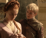 That awkward moment when your fiance the King makes you look at your father's head on a pike