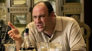 Screen cap from HBO show 'The Sopranos'