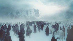 Does this look like porn to you? Screen cap from Game of Thrones - Hardhome battle begins..