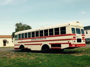 Oh the mainstay of most IFB churches, the bus route. This is a bus from an IFB church founded by a pastor who served time for sexually molesting children from the church school Image by Suzanne Titkemeyer