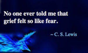 Grief Fear Lewis