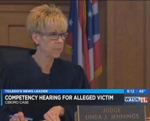Judge Linda Jennings. WTOL screen capture via Cleveland 19 News.
