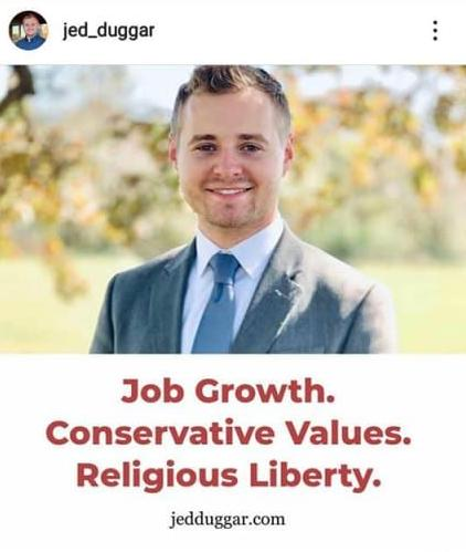 Jed Duggar Running for Political Office   Suzanne Titkemeyer