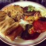 Afghani Food Plate from DeAfghanan in Fremont, CA