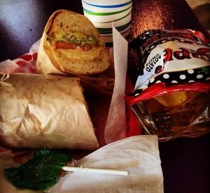 Halal Chicken Sandwich from Ike's Lair in Santa Clara, CA